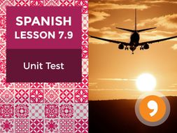 Spanish Lesson 7.9: Mis Viajes - Unit Test
