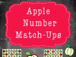 Apple Number Match-Ups