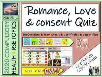 Romance, Love + Consent Quiz