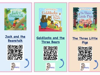 EYFS Story Time QR Codes (x12)