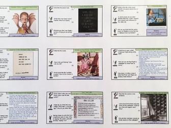 RICS Set D (Reading Comprehension, Mrs P Blog)