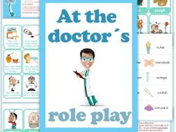 At the doctor´s role play.