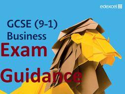 Exam Technique - Edexcel GCSE Business