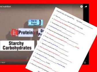 Scientific Eye: Food Video Questions