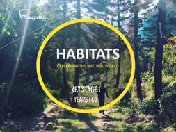 PSHE Lesson plan - Habitats - KS1