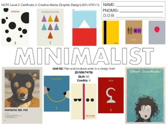 NCFE L2 in Graphic Design UNIT 02 SCHEME OF WORK