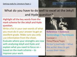 Jekyll and Hyde - Model Answer