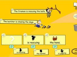 silly sentence maker by tesiboard teaching resources tes