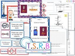 Y7 Science Induction Pack