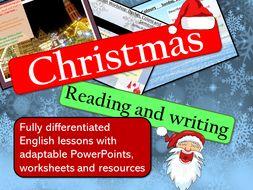 Christmas Reading and Writing