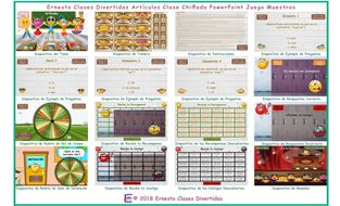 Articles-Kooky-Class-Spanish-PowerPoint-Game.pptm