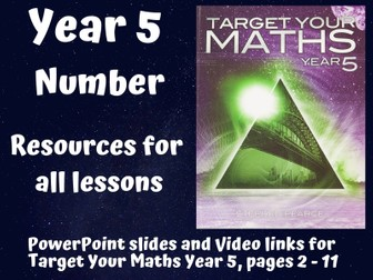 Target Your Maths Year 5 - Number (resources for all lessons)