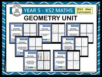 Year 5 - Geometry Unit (inc. mastery. White Rose)