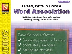 Read, Write, & Color: Word Association 2