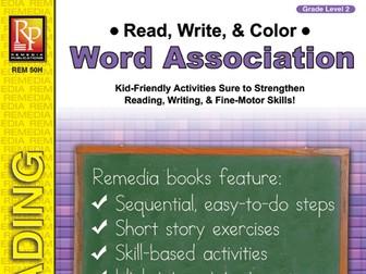 Read, Write, & Color: Word Association 2