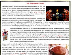 the spring festival chinese new year reading comprehension by mariapht teaching resources. Black Bedroom Furniture Sets. Home Design Ideas