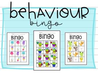 Behaviour Bingo Classroom Management Tool