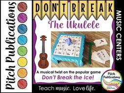 Music Center: Don't Break the Ukulele! - Ukulele Centers Game