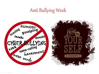 Anti Bullying Week + Motivational Quotes To Inspire Students + 31 Different Teaching Activities