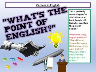 Careers in English