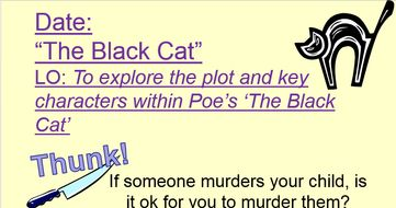 what is the plot of the black cat