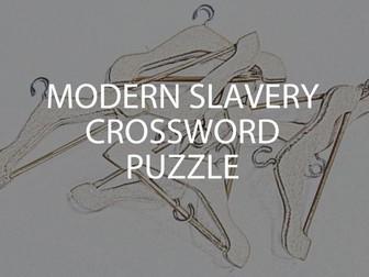 Modern Slavery Crossword Puzzle (UK)