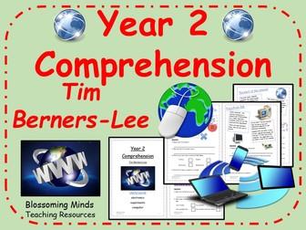 Year 2 Reading Comprehension Paper - Tim Berners-Lee