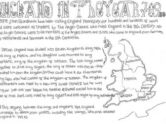 Vikings and Anglo Saxons: England in the Year 789 AD