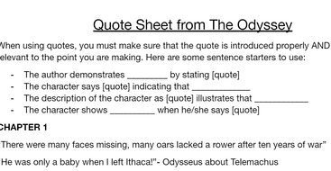Quote-Sheet-from-The-Odyssey.docx