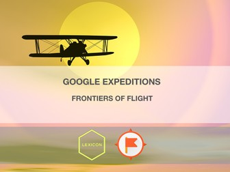 Frontiers of Flight #GoogleExpeditions Lesson