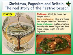 The Pagan Origins of Christmas by EC_Resources - Teaching Resources - Tes