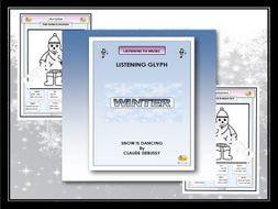"""Listening Glyph - """"THE SNOW IS DANCING"""""""
