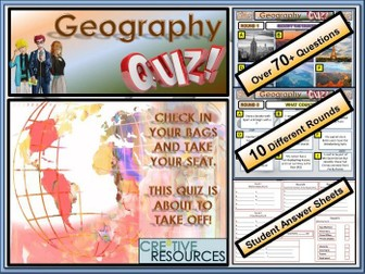 2019 Geography Quiz - General Knowledge