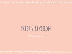 AQA GCSE Chemistry Paper 2 Revision