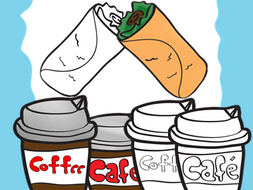 Freebie Food Clipart Bilingual Stars Mrs. Partida Clips