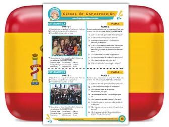 Fama - Spanish Speaking Activity
