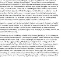 Macbeth Plot Synopsis
