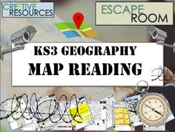 Map Reading Escape Room - Geography