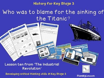 'Who was to blame for the sinking of Titanic?'