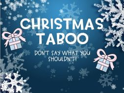 Christmas Taboo Game Quiz