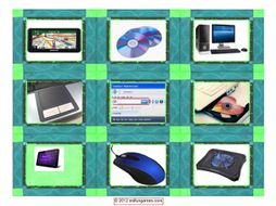 Computer Technology Cards 4 Pages = 36 Cards