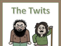 The Twits vocabulary puzzles