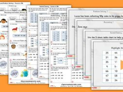 Year 3 Count in 50s Autumn Block 1 Step 10 Maths Lesson Pack