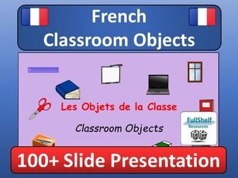 French Classroom Objects Presentation (Les Objets de la Classe)