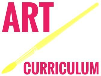 Art. Key Stage 3 Complete Art Curriculum 2018 -19.