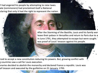 The Reign of Terror - French Revolution