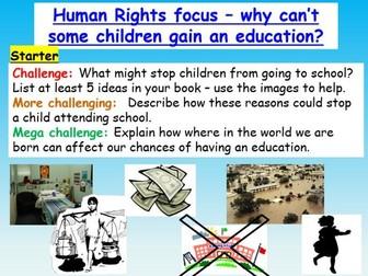 Human Rights : Education