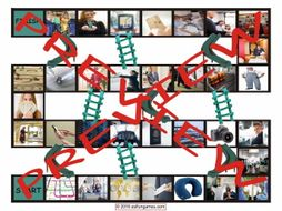 Travel Modes and Things Chutes and Ladders Board Game