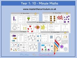 Year 1 – Ten-Minute Maths Workout (30 Sets)