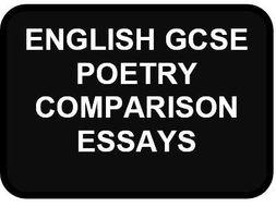 GCSE English Literature Poetry Comparisons